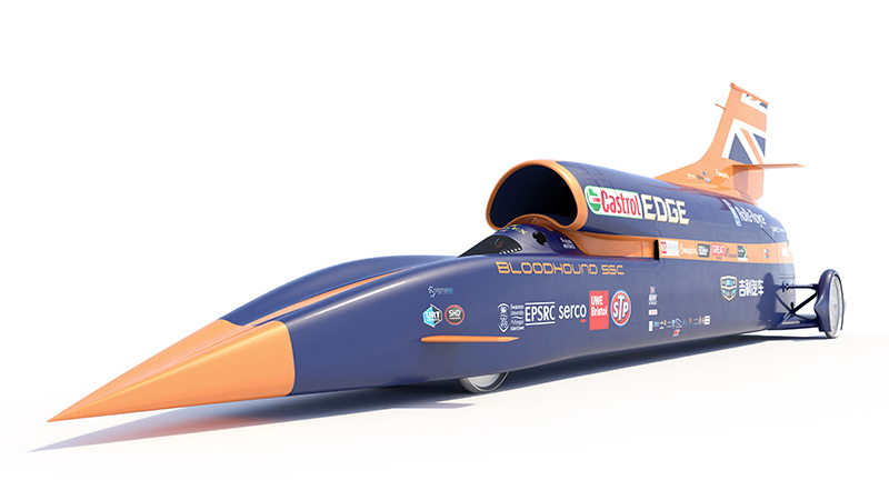 UK IMechE News : Bloodhound vs Thrust: How Do the ...