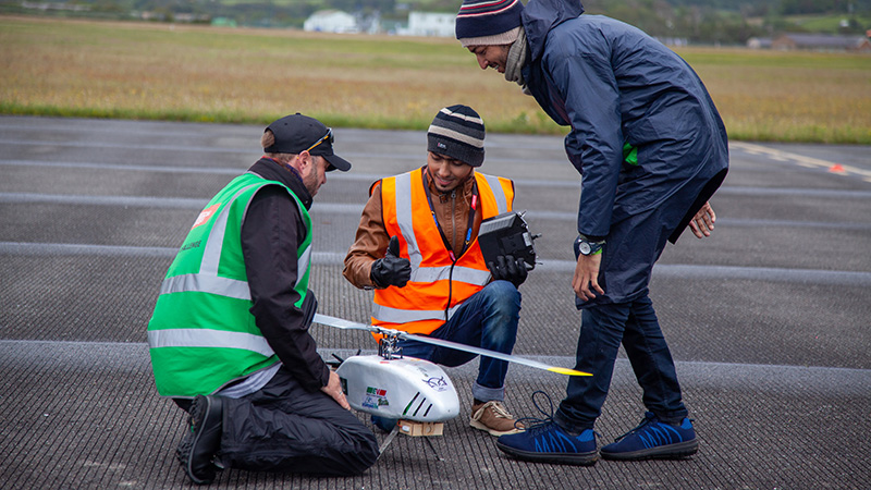 Team NUST Airworks Clean Sweep at UAS Challenge 2019