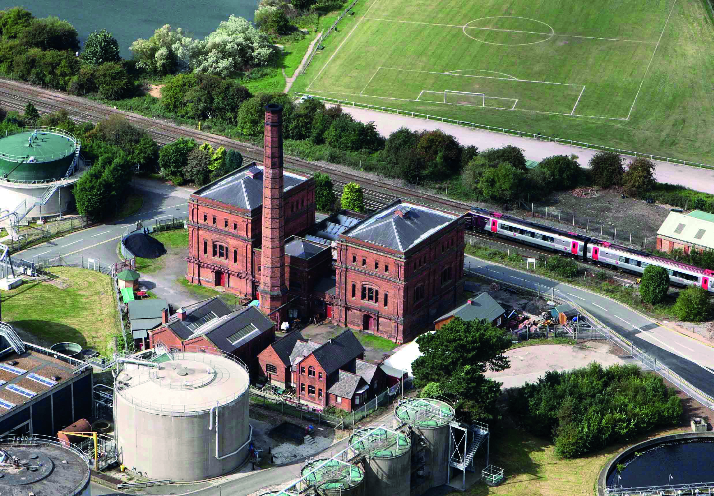 Claymills Pumping Station Burton-on-Trent EHA 58