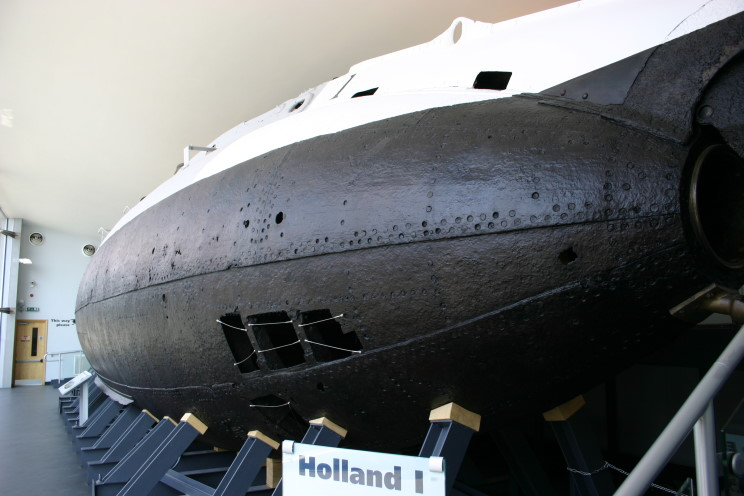 Holland 1 Submarine Gosport EHA 63
