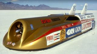 Thrust2: Travelling at 633mph