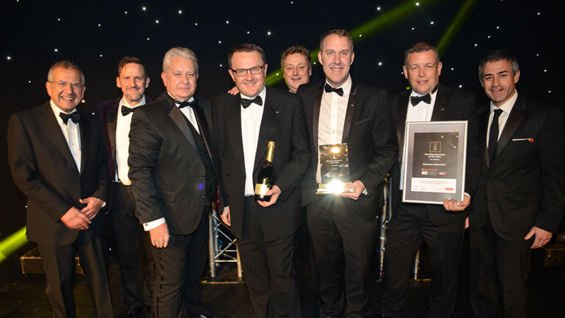Manufacturer of the Year award winners McLaren Automotive.