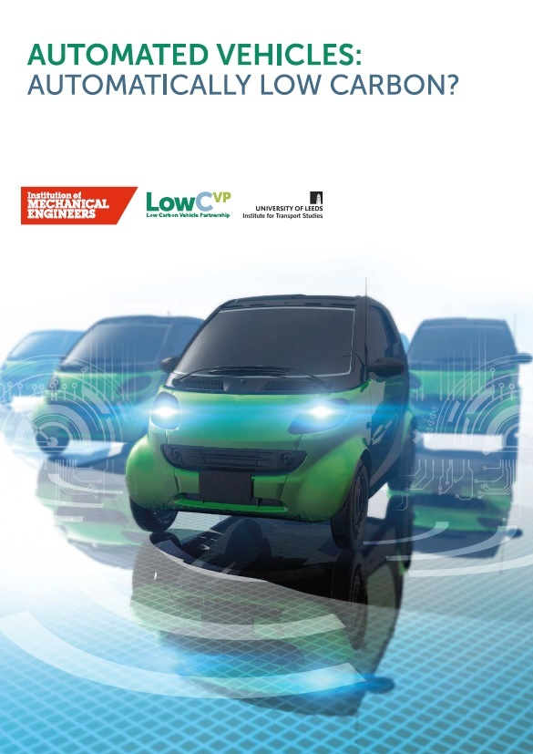 Automated Vehicles Automatically Low Carbon thumb