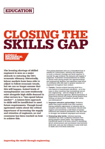 Closing the Skills Gap thumb