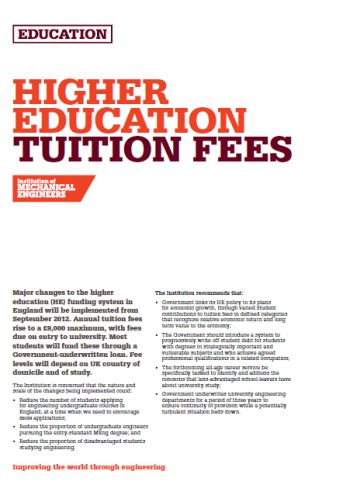 Higher Education Tuition Fees thumb