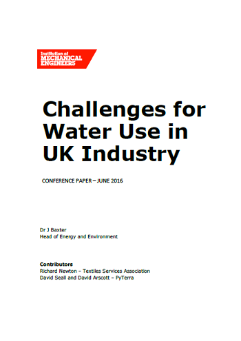 Challenges for Water Use in UK Industry thumb