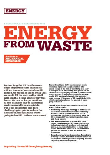 Energy from Waste thumb