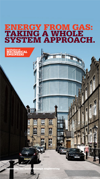 IMechE Energy From Gas Report cover