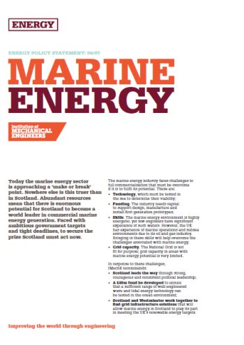 Marine Energy thumb