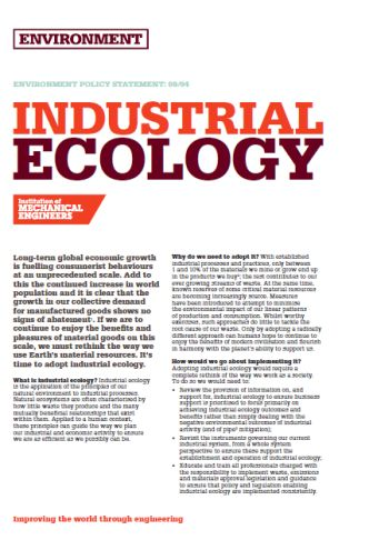 Industrial Ecology thumb