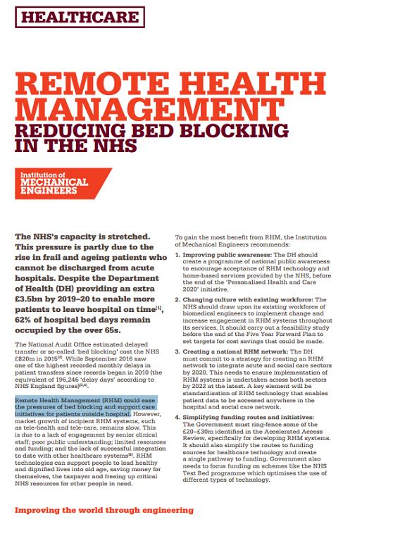 Remote Health Management