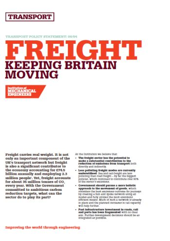 Freight - Keeping Britain Moving thumb