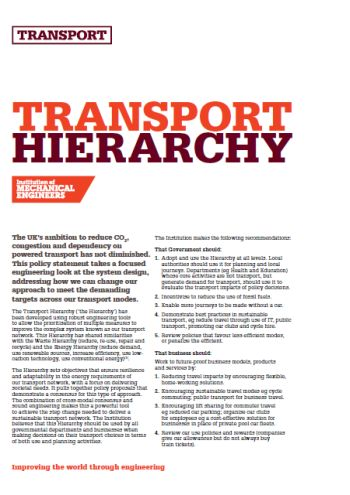 Transport Hierarchy thumb