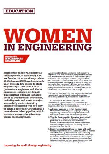 Women in Engineering thumb
