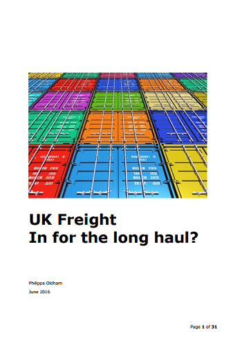 UK Freight - In for the long haul