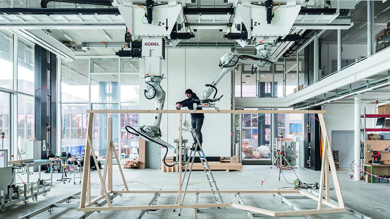 Rise of the robot builders helps automate construction of new homesImage