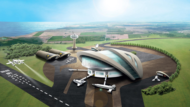Legal and geographical issues 'could leave UK with white elephant spaceport'Image