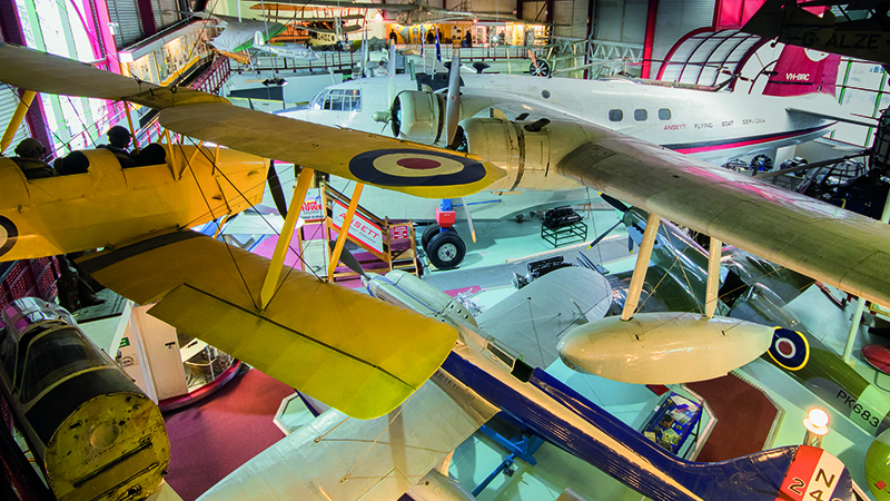 WORTH A DETOUR: Aerial adventures at the Solent Sky Museum Image