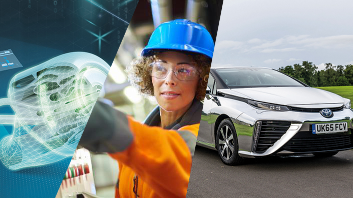 Gender pay gap, hydrogen cars and 3DP for oil & gas: most-read stories of 2018, Apr – JuneImage
