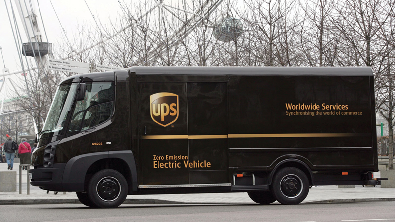 Smart grid brings 'beginning of the end of reliance on combustion engines' at UPS Image