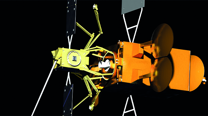 Inside the Space Drone, the orbital 'jet pack' to extend satellites' lives Image