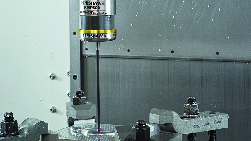 FEATURE: On-machine measurement removes CMM bottleneck and cuts inspection timeImage