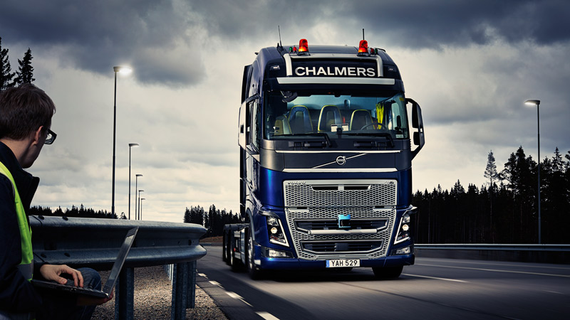 Swedish researchers to test driverless truck that mimics biological systems Image