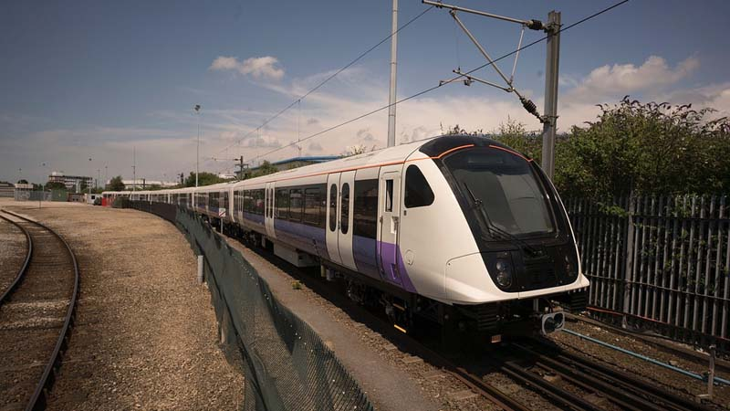 First Crossrail train leaves factoryImage