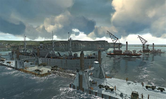 D-Day recreated with CAD 3D models and virtual reality
