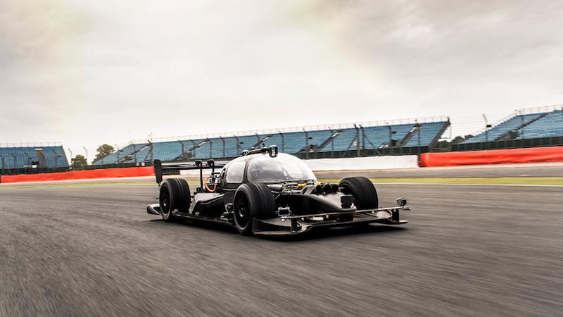 Roborace moves closer with development car Image
