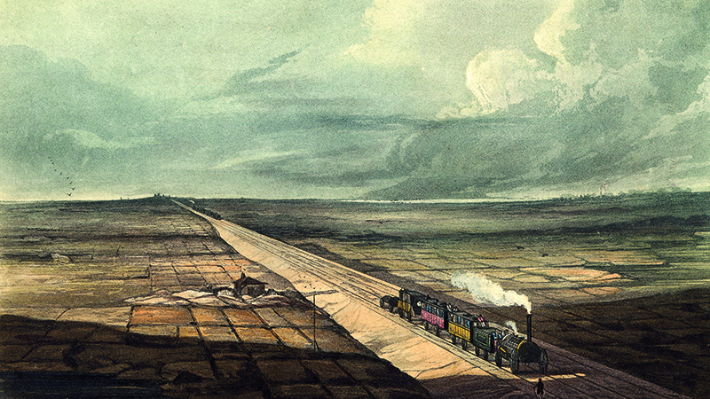 ARCHIVE: The great George Stephenson was no stranger to controversy Image