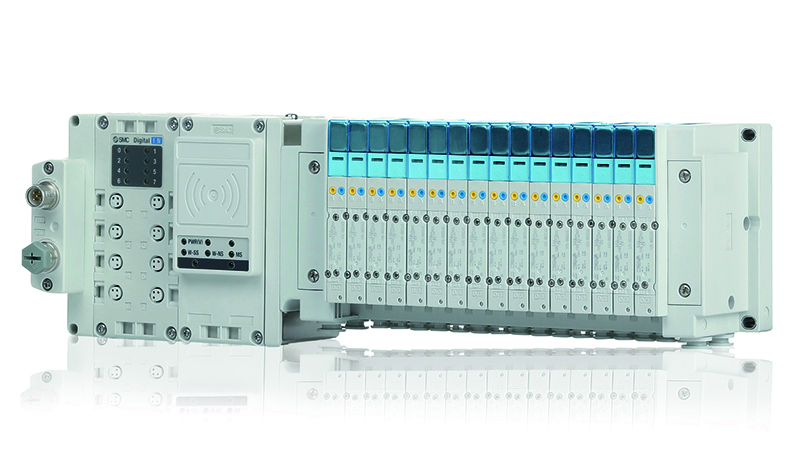 SMC leads the way with world's first integrated wireless valve manifold systemImage