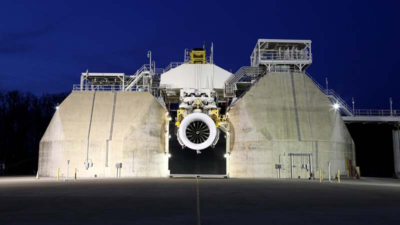 GE Aviation begins  ground tests of giant  jet engine Image