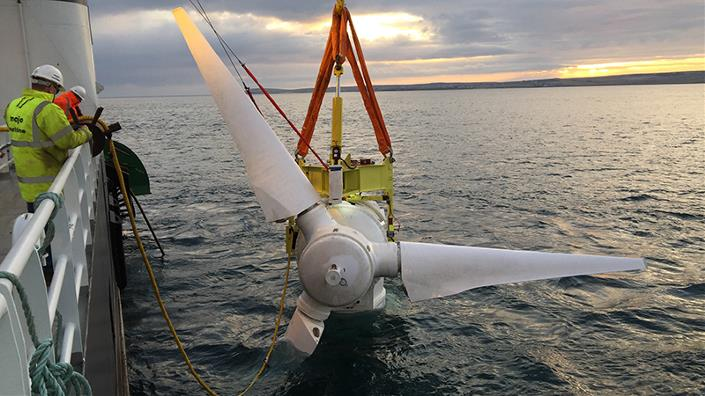 MeyGen tidal-energy array exports electricity for whole of 2019 Image