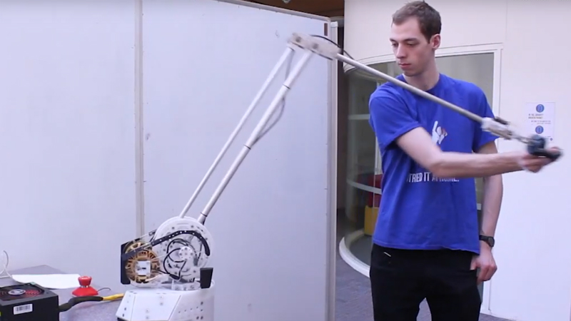 Bristol's 'lightweight, affordable' Mantis arms bring force feedback out of the lab Image