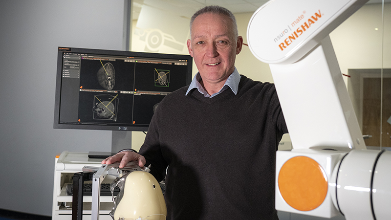 'We aim to show that engineering can be a real force for good': Max Woolley, Renishaw Image