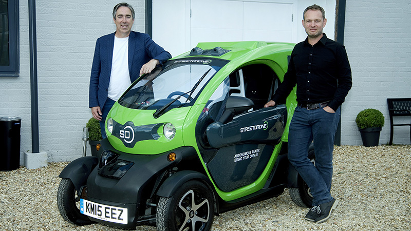 'Colossal UK skills shortage' threatens huge potential job growth from driverless cars Image