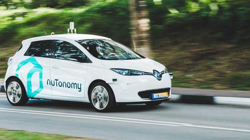 World's first public autonomous taxi trial begins in Singapore Image