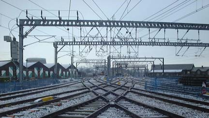 Rail Technology Reduces Overhead Wire Damage