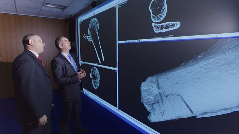 Warwick researchers use 3D scanning to help convict killers Image