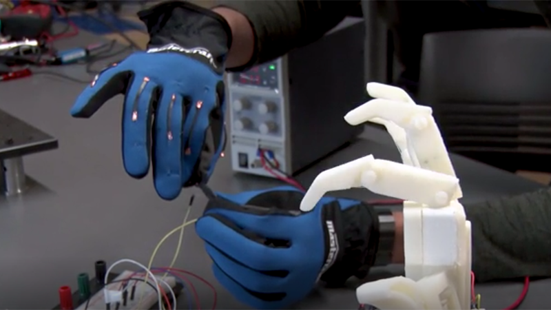 Super-stretchy sensors could create 'next level' biomedical devices Image