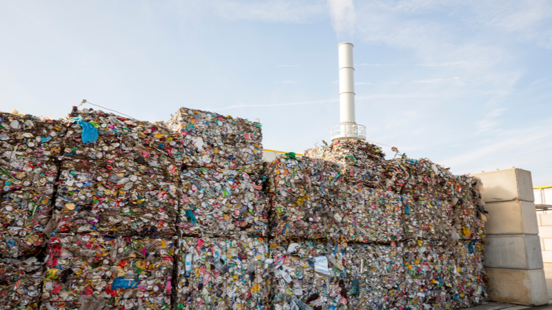 Is burning rubbish a sustainable landfill alternative?  Image
