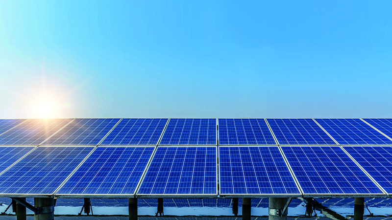 Research breakthrough shines a light on solar panels Image