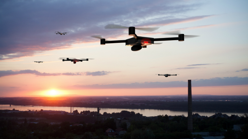 'Superhuman' robotic location system could revolutionise drone swarms Image