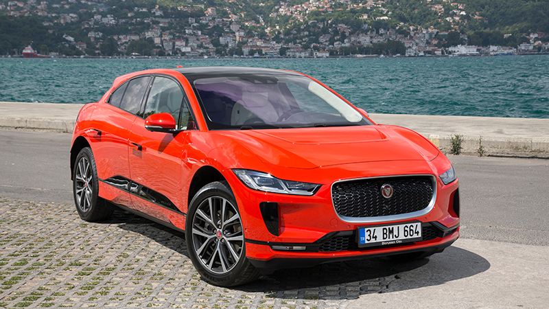 The Battery Electric Jaguar I Pace Credit Shutterstock