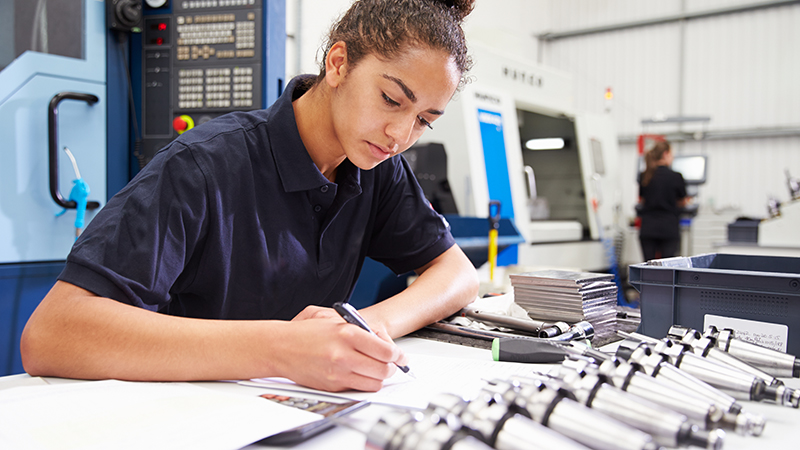 Only a quarter of girls aged 16 to 19 would ever consider an engineering careerImage