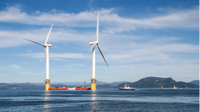 Next-gen turbines well-suited for floating farms – but other installation challenges remain Image
