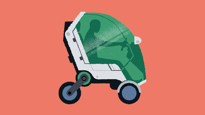 Soaring Twenties: The decade of the 'motorised seatmobile'?  Image