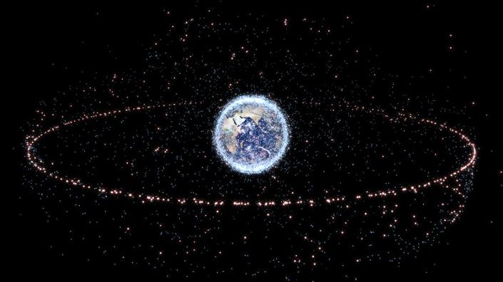 RemoveDebris satellite catches 'space junk' with net after years of planning Image