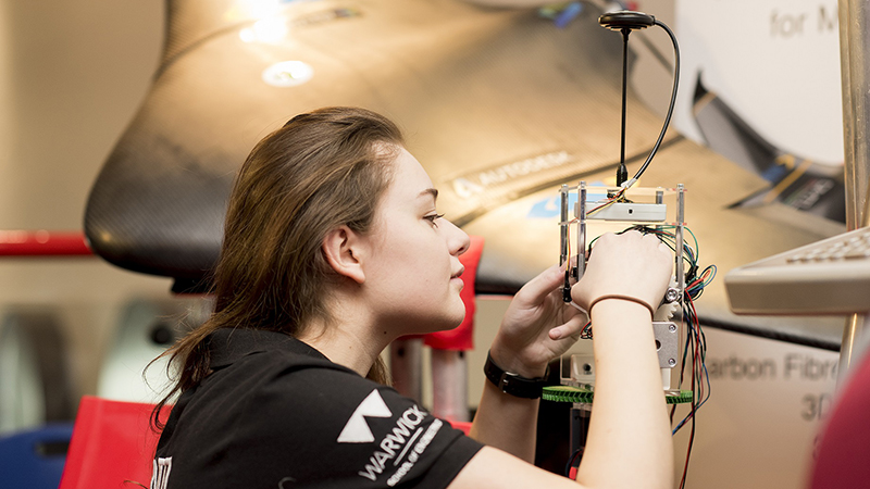 University partners with Women's Engineering Society to boost support Image